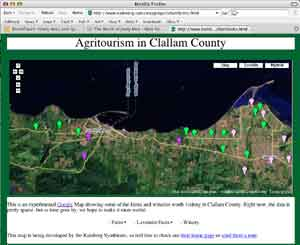 Check out our Clallam County Agritourism Google Map