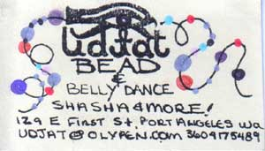 Udjah Beads and Belly Dancing